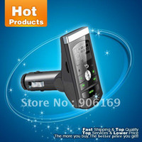 Wholesale Protable Car MP3 Player From Avatar Audio USB Player FM Transmitter Red Silver black Blue