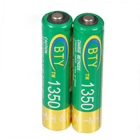 Wholesale BTY mAh Ni MH AAA Rechargeable Batteries Pack