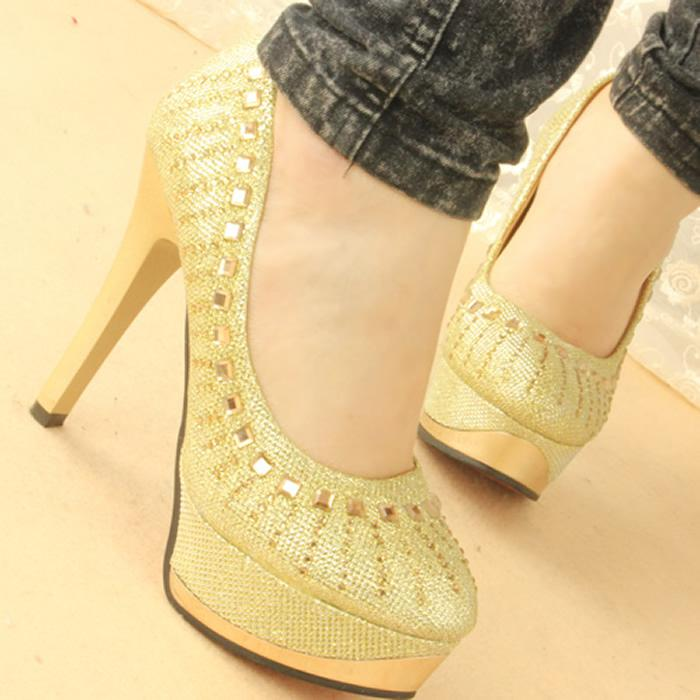 Yellow Gold Wedding Shoes Shoes Gold Wedding Shoes