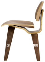 wooden chair - Charles Eames amp Ray Eames DCW Chair Plywood Dining Chair shell chair relax chair wooden chair living room furniture modern classic chair