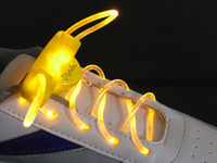 Wholesale hot sale Lighting LED Shoe Shoes Laces Rave Party Fun Colors Light Up LED Waterproof Shoelaces
