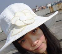 Wholesale Summer ladies Sunhat Hat Visor Leisure Sun Beach Sunbonnet Hat