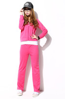 Wholesale Hot Sale Tracksuit Women s Spring amp Summer new design Clothes cotton navy Colors