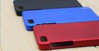 Wholesale 200 new version New Back Hard Case Skin Cover Shell for Blackberry Z10 BB10 Rubber Coating