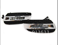 Cheap In stock Drl Driving Daytime Running Day Fog Lamp Light Fit For Mercedes Benz W164 Ml350