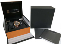 Wholesale Men s PAM289 DAYS GMT k ROSE GOLD original box papers Luxury Watch Mens Watches