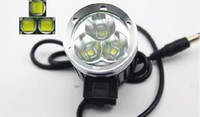 Wholesale 2400 Lumen x CREE XM L T6 LED Headlight Headlamp Bicycle Bike Light Waterproof Flashlight