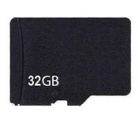 Wholesale 32GB microSD micro SD memory card TF card Full Capacity GB G w adapter for phone camera