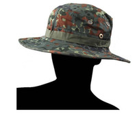 Wholesale New Military Army Round brimmed Hat Sun Bonnet Woodland Light Camo Outdoor Cap