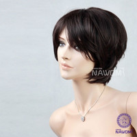 Wholesale Female Glamorous Charming short black wave women Wig High quality fashion lady Wig Hair H9055Z