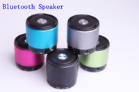 Wholesale 2013 Mini Bluetooth Speaker Wireless HiFi Loudspeaker For iPhone MP4 MP3 Tablet PC Music Player