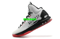 Wholesale Kevin Durant s KD V Men s Basketball Shoes white black red us size