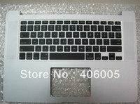 Wholesale New For quot A1398 Topcase with keyboard Top case Upper case rest Year MC975 MC976