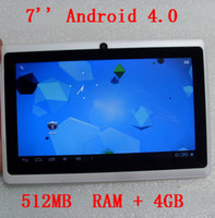 Retail tablet PC, White 7 inch 16: 9 wide TFT LED screen Andr...