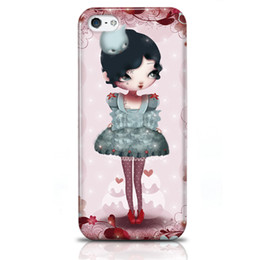 Wholesale for Iphone S Phone Case Durable Phone Cover Adolie Day Illustrations Hard Protector Shake Proof