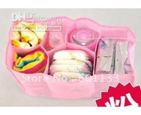 Wholesale Diaper Bag Organizer Can Choose X M L size Pink Blue White Color