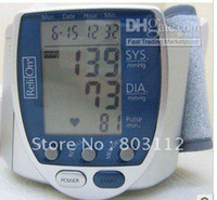 Wholesale Digital Wrist Blood Pressure Monitor amp Heart Beat Meter With LCD Digital Wris Blood Pressure Monitor