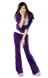 Wholesale kinds of color long women tracksuit hoodies with clothes and Pants