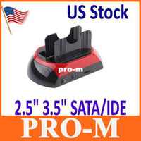 Wholesale US Shipping quot quot SATA IDE Dock HDD Docking Station e SATA Hub Drop Shipping