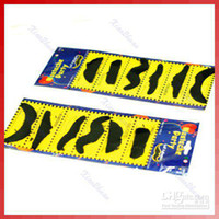 TD0202-6 best fake mustache - 5 Pieces Halloween Gift Best quality Stylish Costume Party Fake Mustache in piece