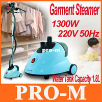 Wholesale Professional Home Telescopic Fabric Garment Steamer with Accesories EMS Freeshipping Dropshipping