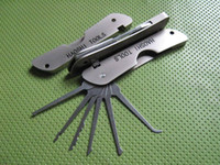 Wholesale Locksmith Pocket Lock Pick Sets Jackknife JPXS picklock tools lock pick