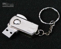 Wholesale For GB Stainless steel USB Flash Drive disk memory stick Pendrives thumbdrives