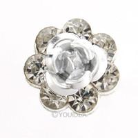 Wholesale 20pcs choose Flower Design Rhinestone Crystal Wedding Party Plum blossom Hair Pins Bands Clips