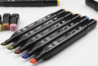 Wholesale Touch Marker Pens Oily Mark pen set used in animation design art design architectural design sketch