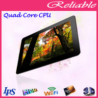 Wholesale 10 quot Quad core Ainol Novo Hero II Tablet pc Android IPS GHz GB Dual Camera HDMI