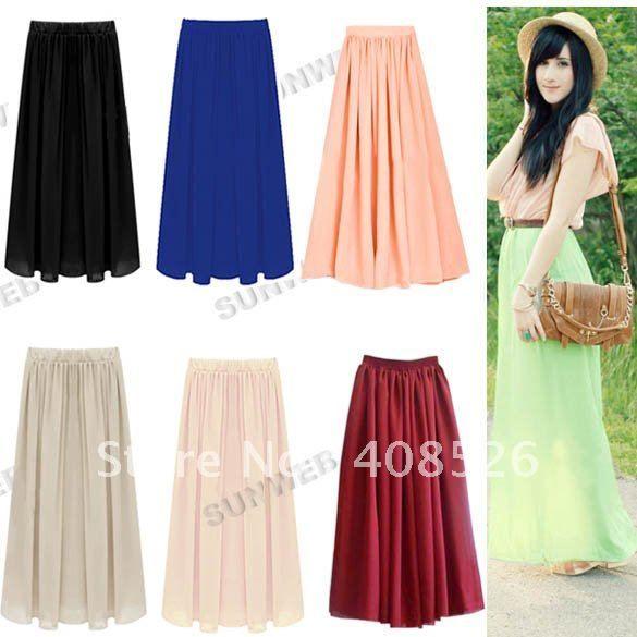 Long Fashion Skirts