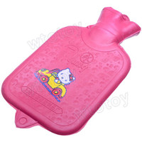 Wholesale NEW Small Thick Rubber Hot Cold Water Bag Bottle ml for outdoor camping home