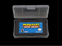 Wholesale New Game Mario Kart Super Circuit Version Game Card For GBA DS Game Console Mix Order