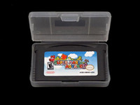 Wholesale 32M New Super Mario Advance Game Card For GBA DS System high quality free via DHL Mix Order