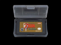 Wholesale 50pcs The Legend Of Zelda Link To The Past amp Four Swords For GBA DS System Mix Order