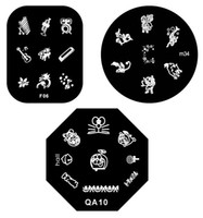 Wholesale Nail Plate nail care Image Plate nail art Stamping Nail Art supply Nail Art Products topwin