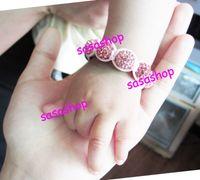 shamballa bracelets - Baby Shamballa Bracelet Crystal Disco Ball Beads Bracelets Kids Shamballa Bracelet