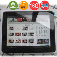 Wholesale Dual Core RK3066 Android Inch GHz HDMI Dual Camera Wifi Flash G tablet pc