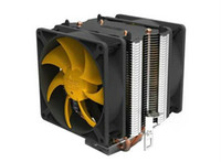 Wholesale dual fan dual heat pipe Brass heat S90D CPU FAN LGA775 AMD754 AM2 AM2 AM3