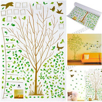 Wholesale Environmental Removable Bird Tree Home Wall Sticker Decoration Wall Paster
