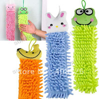 Wholesale Hot sell Lovely animal cleaning towel cartoon towels Hand Dry Towel for Bathroom Office Car Use