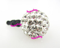 Wholesale Anti Dust Plug Stopper Dust Proof Plug for iPhone cell Phones Crystal Disco Ball Earphone Jack Plug