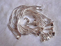 Wholesale Piece Snake Chain Copper With Silver Plated S925 stamp Bracelets Fit European Beads Brand Size Inch New