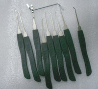 Lock Pick Sets advanced machine tools - Key Lock Pick Set pieces pick lock tools Advanced locksmith tools