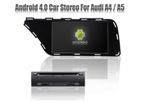 Wholesale Android Car DVD Player for Audi A4 A5 with GPS Navigation Stereo Radio Bluetooth USB TV Auto Video Audio Multimedia Sat Nav