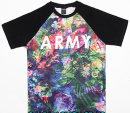 Wholesale 2013 Fashion Hot Sell men women summer t shirt hip hop huf skateboard cloth army