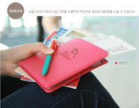 Wholesale cortical travel wallet passport holder passport package short paragraph card package b0012