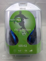 Wholesale Promotion brand new Sport SH S2 Wireless Headphones earphones in box