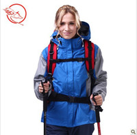 Wholesale The Wolf Legend New Women s Outdoors Climbing Skiing windstopper Jackets