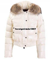 Wholesale Women s Alpes quilted fur hood jackets Ladies parkas winter down jackets Women s down coats winter